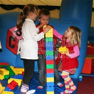 Giant Games Big Rubber Lego Hire