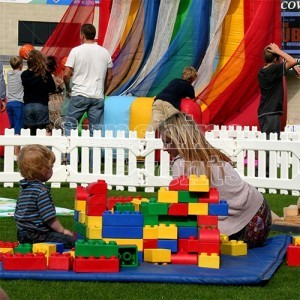 Big Rubber Lego Giant Games Hire