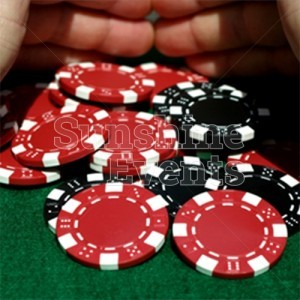 Fun Casino Table Chips and Funny Money