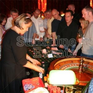 Wedding Entertainment Casino Table Hire
