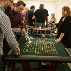 Fun Casino Tables for Staff Events