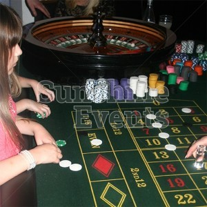 Fun Casino Tables with funny money