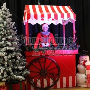 Christmas Grottos and Entertainment Traditional Food Carts