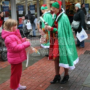 Christmas Walkabout Entertainment