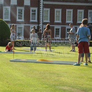 Crazy Golf Hire Lawn Game