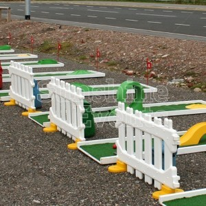 Crazy Golf Hire on Hard Standing