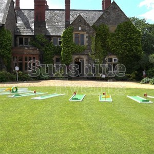 Crazy Golf Hire for Colleges and Universities