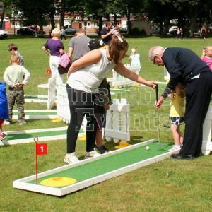 Crazy Golf Hire Entertainment for Family Events