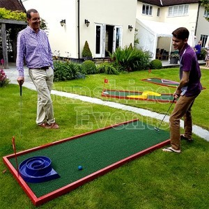 Deluxe Crazy Golf Hire for Events and Party Entertainment