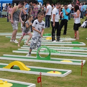 Crazy Golf Hire for Family Fun Days