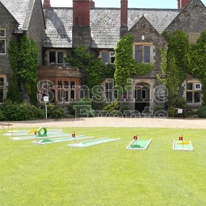 Crazy Golf Hire for Lawn Games