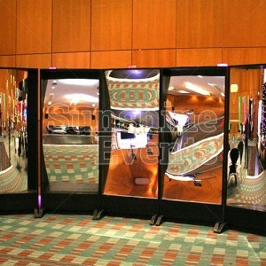Evening Functions and Events Crazy Mirrors Hire