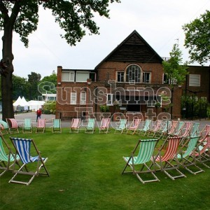 Deckchair Hire for Events and Parties