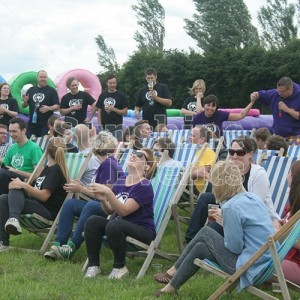 Deckchair Hire for Corporate Team Building