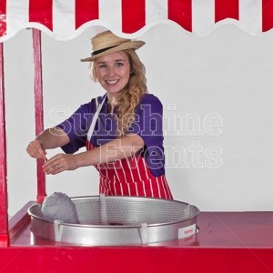Fun Food Candyfloss Hire