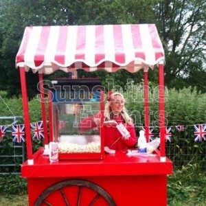 Fun Food Popcorn Cart for outdoor events