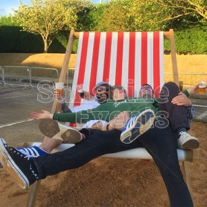 Giant Deckchair Hire for photo opportunities