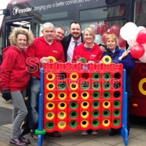 Giant Connect 4 Games Hire