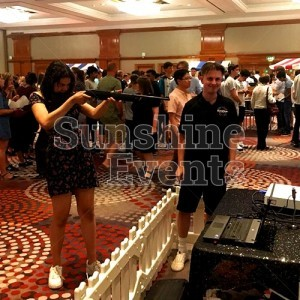 Evening Functions and Events Laser Shooting Simulator