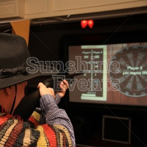 Darts Laser Shot Entertainment for Western Events