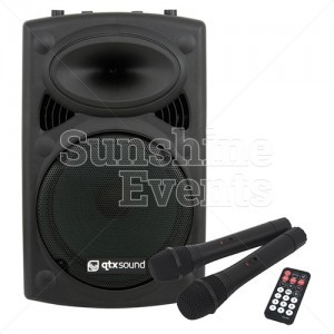 PA system to hire for events and parties