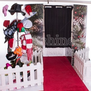 Festive Photo Booth Hire