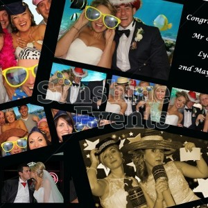 Wedding Entertainment Photo Booth with Props