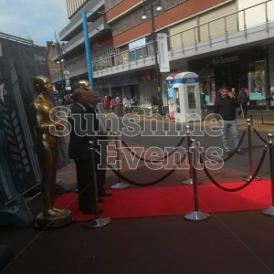 Award Statues, Red Carpet and Stanchion Hire