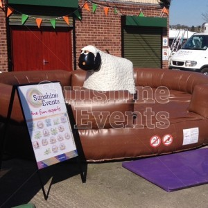 Rodeo Sheep Simulator Ride for Events and Parties