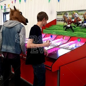 Interactive Equipment Roll A Ball Donkey Derby
