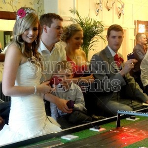 Wedding Entertainment Casino Tables