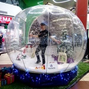 Christmas Entertainment Snow Globe Hire