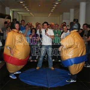 Competitive Sumo Wrestling