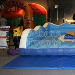 Surfboard Simulator for Indoor Fun Day