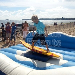 Surf Simulator for Beach Party Events