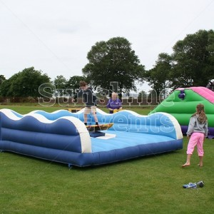 Surf Simulator for Family Fun Day Entertainent