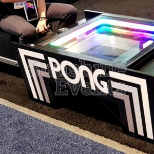 Evening Functions and Events Atari Pong Table