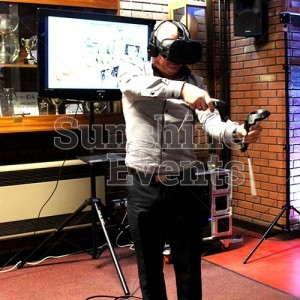 Interactive Equipment Virtual Reality Experience