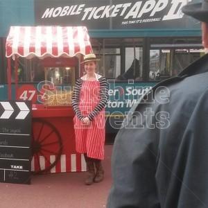 Hollywood Theme Fun Food Promotion