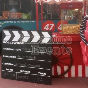 Hollywood Theme Promotion Event