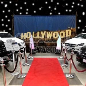 Hollywood Theme Car Showroom