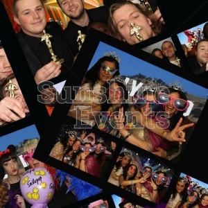 Photobooth hire for evening entertainment