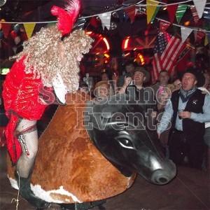 Wild West Theme Rodeo Bull