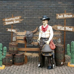 Wild West Props for Themed Events and Partites