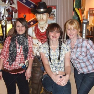 Wild West Theme Lifesized Cowboy