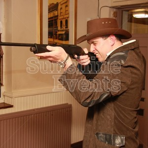 Wild West Theme Events laser shoot
