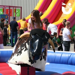 Rodeo Rides Bull Outside Event