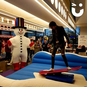 Rodeo Rides Surf Simulator and Inflatable Canopy Hire