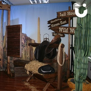 Wild West Backdrop for Events
