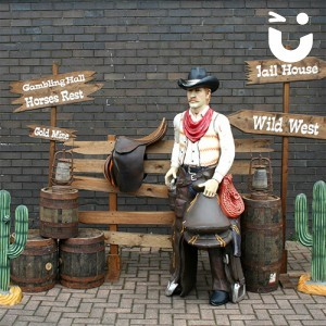 Wild West Themed Peep Board for Events